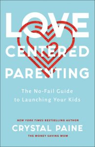 Love Centered parenting book cover